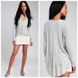 NWT Free People We the Free Catalina Thermal Top